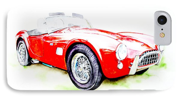 Ac Cobra IPhone Case by Isabel Salvador