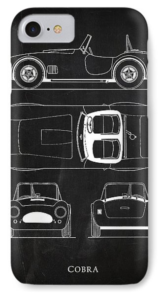 Ac Cobra IPhone 7 Case by Mark Rogan