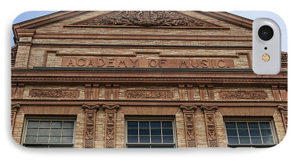 Academy Of Music Nothampton Massachusetts IPhone Case