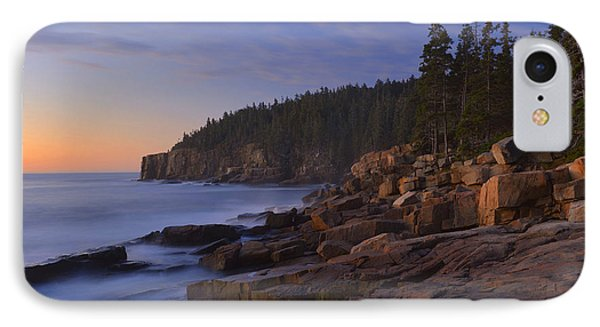 Acadia Dawn IPhone Case by Stephen  Vecchiotti