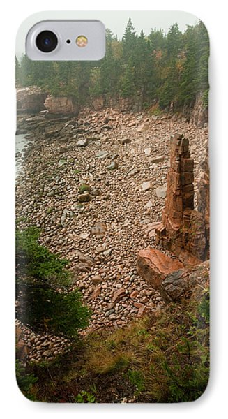 Acadia Fog At Monument Cove 4337 Phone Case by Brent L Ander
