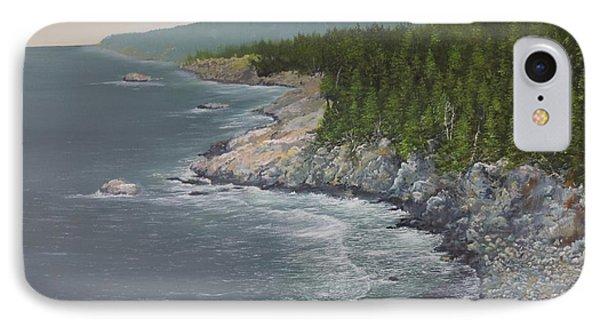 Acadia Maine IPhone Case by Ken Ahlering