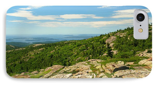 Acadia Maine IPhone Case by Raymond Earley
