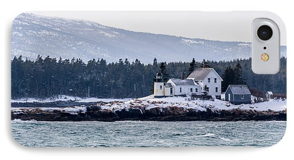 Acadia National Park Schoodic Lighthouse IPhone Case