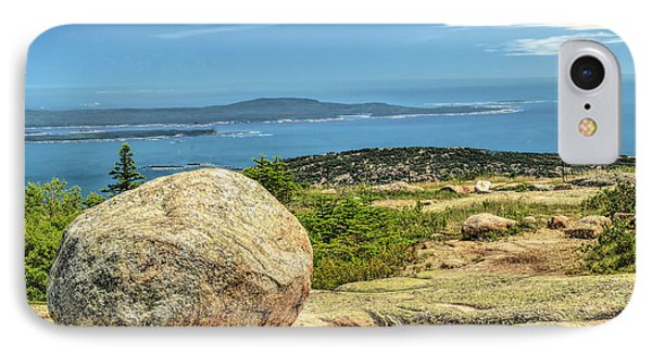 Acadia Park IPhone Case by Raymond Earley