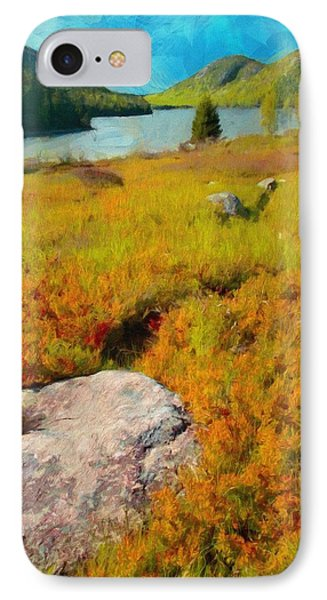 Acadia Spring IPhone Case by Jeff Kolker