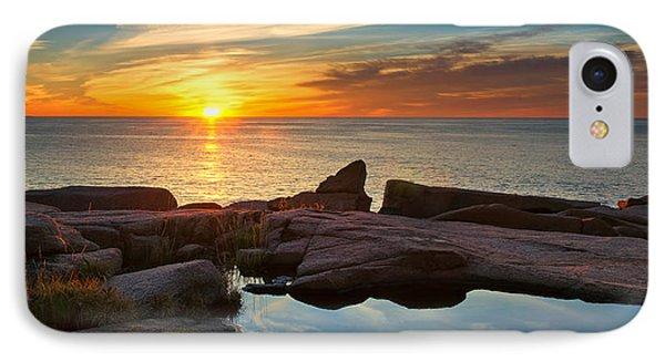 Acadia Sunrise IPhone Case by Darylann Leonard Photography