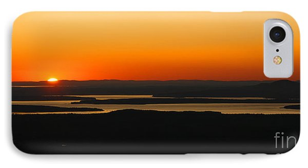 Acadia Sunset Phone Case by Olivier Le Queinec
