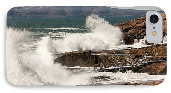 Acadia Waves 4198 Phone Case by Brent L Ander