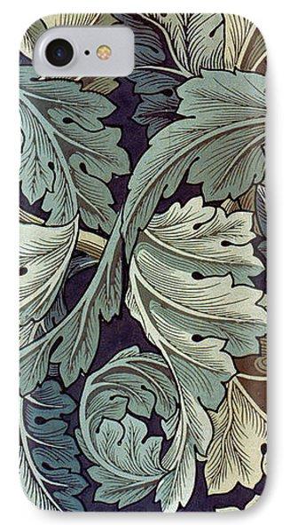 Acanthus Leaf Design Phone Case by William Morris