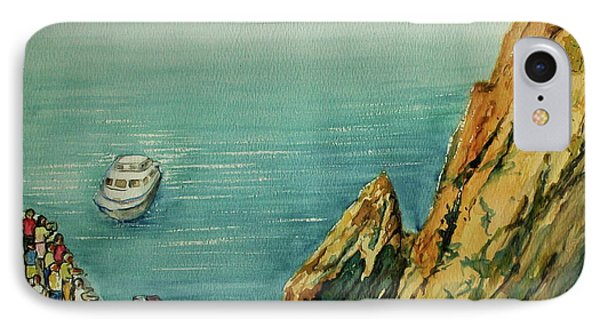 Acapulco Cliff Diver IPhone Case