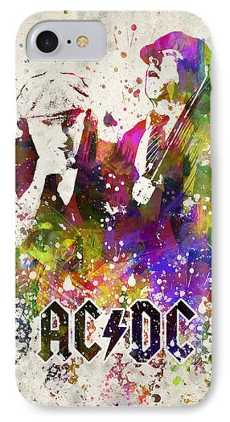 Acdc In Color IPhone Case