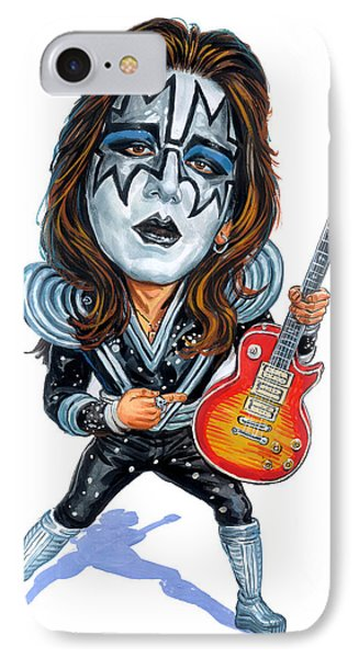 Ace Frehley IPhone Case by Art