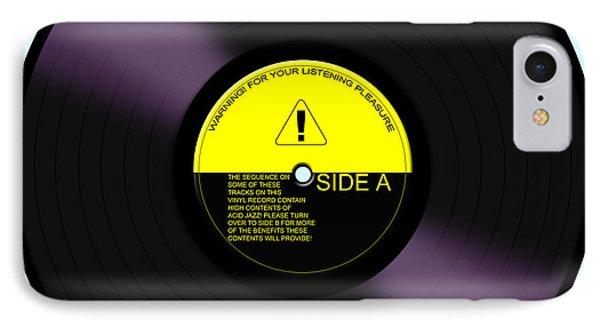 Acid Jazz IPhone Case by Saad Hasnain