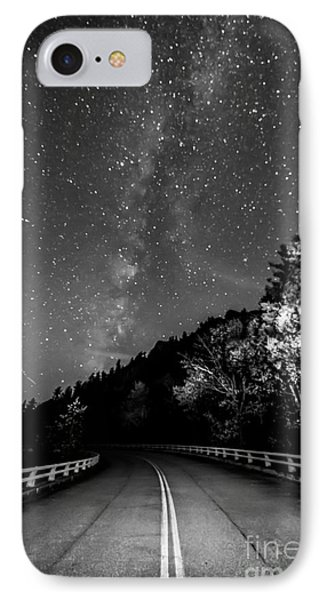 Acid Trip Black And White Edition IPhone Case by Robert Loe