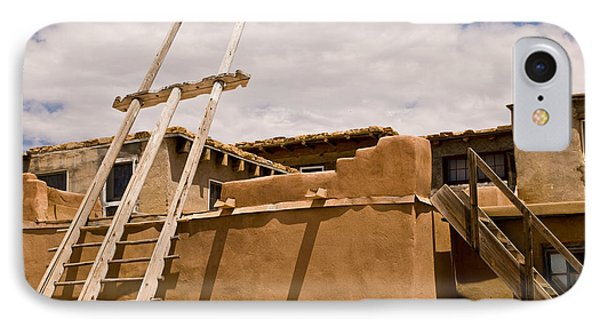 Acoma Building IPhone Case by James Gay