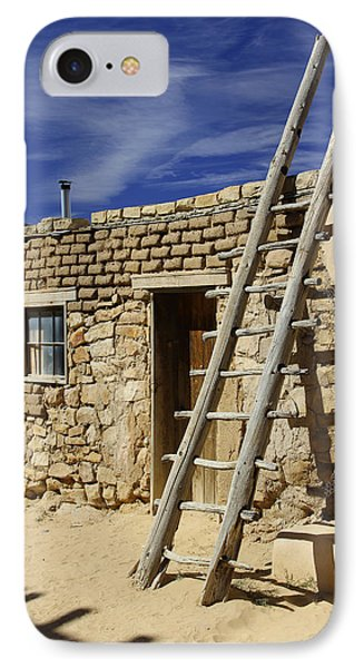 Acoma Pueblo Adobe Homes 4 IPhone Case by Mike McGlothlen