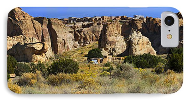 Acoma Pueblo Sky City Panoramic IPhone Case by Mike McGlothlen