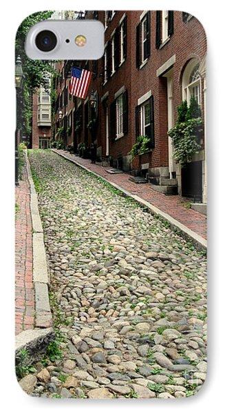 Acorn Street Boston IPhone Case