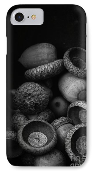 Acorns Black And White IPhone Case