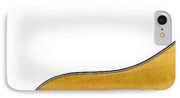 Acoustic Curve IPhone Case by Bob Orsillo
