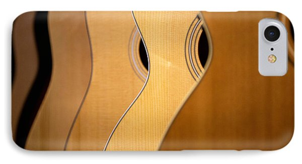 Acoustic Design IPhone Case by John Rivera
