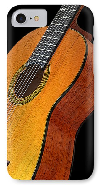Acoustic Guitar IPhone Case by Gill Billington
