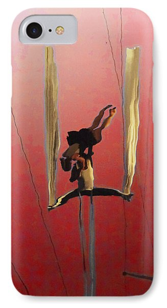 Acrobatic Aerial Artistry1 IPhone Case