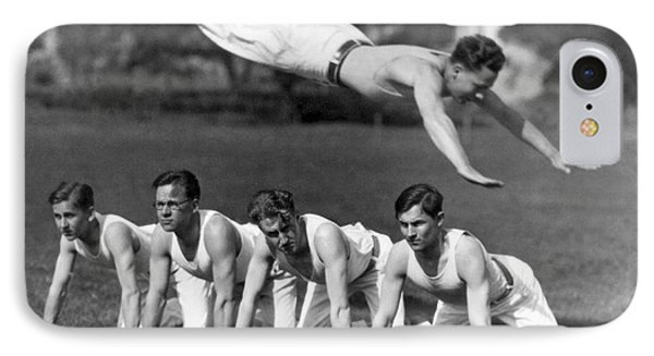 Acrobatic Swandive Phone Case by Underwood Archives