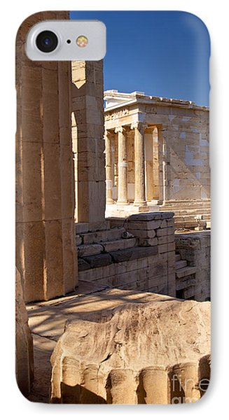 Acropolis Temple IPhone Case