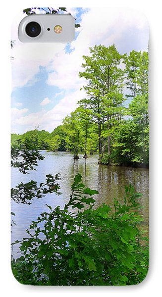 IPhone Case featuring the photograph Across Crystal Lake by Jim Whalen