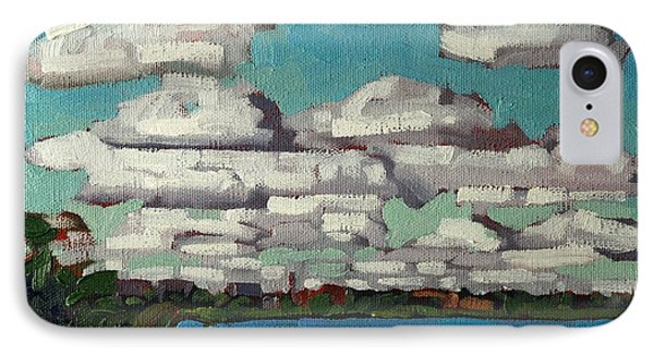 Across The Cataraqui IPhone Case by Phil Chadwick