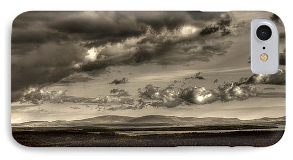 IPhone Case featuring the photograph Across The Divide by Greg DeBeck