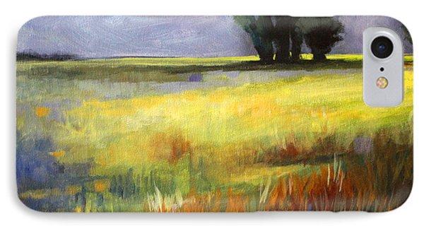 Across The Field Phone Case by Nancy Merkle