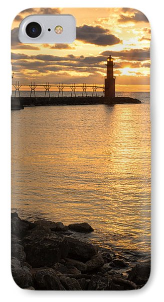 Across The Harbor IPhone Case