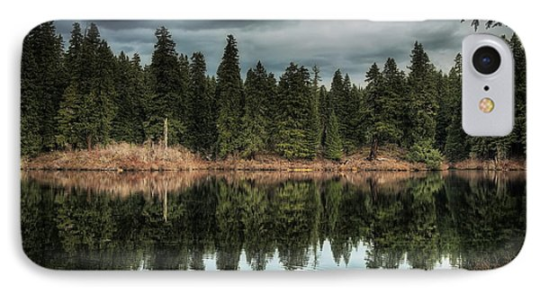 Across The Lake Phone Case by Belinda Greb