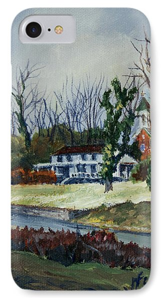 Across The Railroad Phone Case by Janet Felts