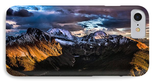 Across The Valley IPhone Case by Steven Reed