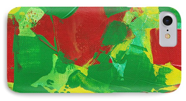 IPhone Case featuring the painting Active Pursuit C2013 by Paul Ashby
