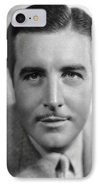 Actor John Boles IPhone Case by Underwood Archives