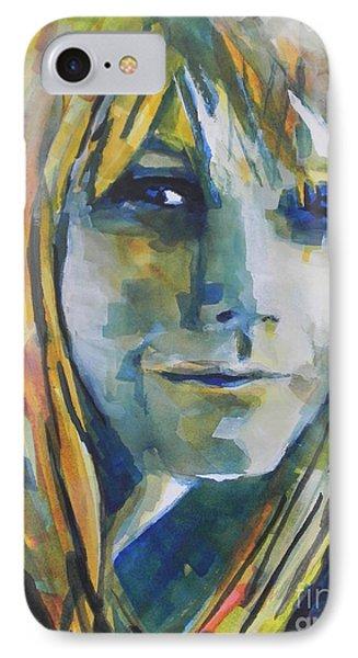 Actress Gwyneth Paltrow Phone Case by Chrisann Ellis