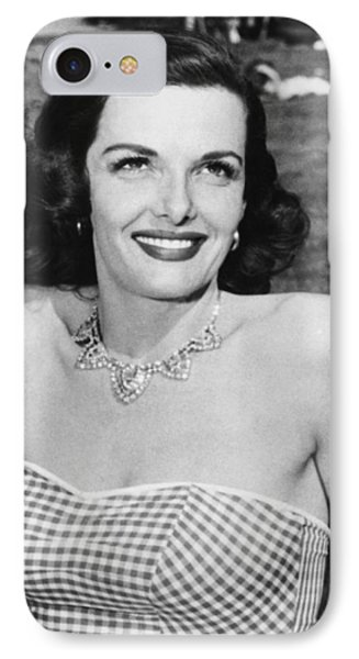 Actress Jane Russell IPhone Case by Underwood Archives