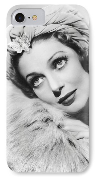Actress Loretta Young IPhone Case by Underwood Archives