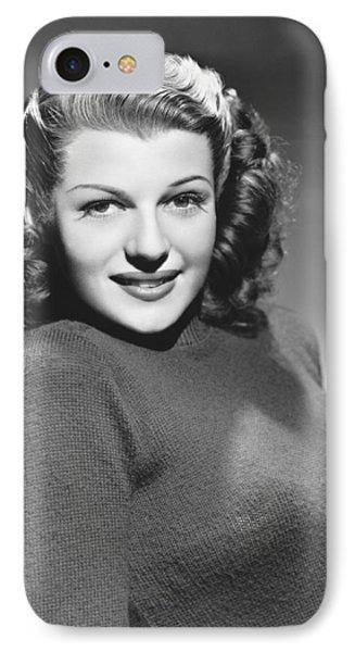 Actress Rita Hayworth IPhone Case