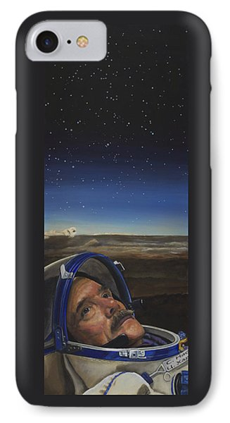 Ad Astra - Col. Chris Hadfield IPhone Case