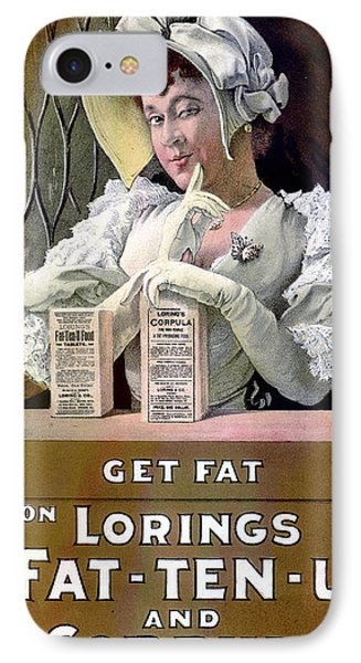 Ad For Patent Medicines 1895 Phone Case by Science Source
