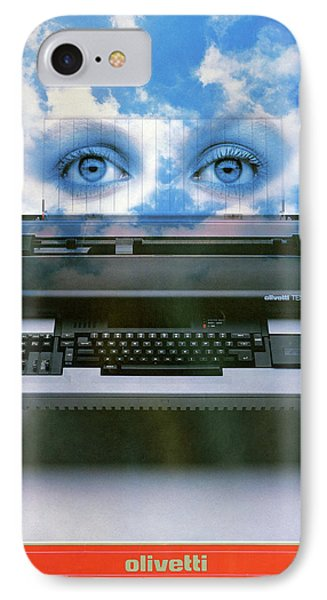 Ad Typewriter, C1975 IPhone Case