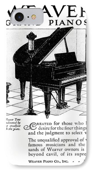 Ad Weaver Grand Pianos IPhone Case by Granger