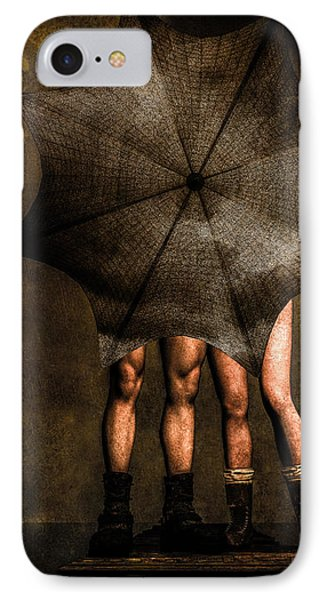 Adam And Eve IPhone Case by Bob Orsillo