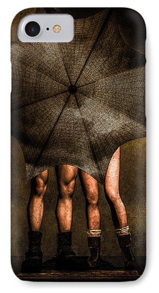 Men iPhone 7 Case - Adam And Eve by Bob Orsillo